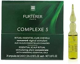 Profumi e cosmetici Complesso per il cuoio capelluto - Rene Furterer Complexe 5 Essential Scalp Ritual Stimulating Plant Concentrate With Warming Esential Oils