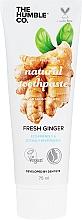 Profumi e cosmetici Dentifricio antisettico naturale allo zenzero - The Humble Co. Natural Toothpaste Fresh Ginger