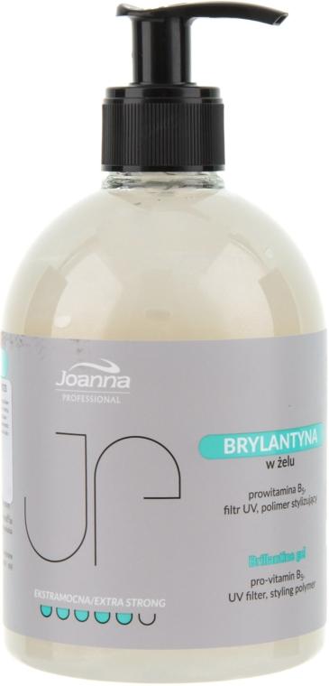 Gel brillante per lo styling dei capelli - Joanna Professiona Brillantine Gel — foto N1