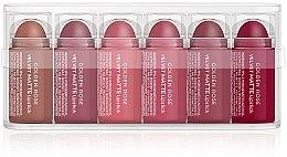 Profumi e cosmetici Set rossetti opachi - Golden Rose Matte Lipsticks Mini Set (6x0,5g)