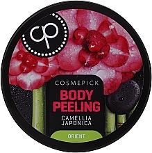Profumi e cosmetici Peeling corpo rilassante con olio di fiori giapponesi di camelia - Cosmepick Body Peeling Camellia Japonica