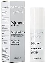 Profumi e cosmetici Siero viso al 2% di acido salicilico - Nacomi Next Level Salicylic Acid 2%