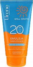 Profumi e cosmetici Lozione solare idratante impermeabile - Lirene Sun Care Emulsion SPF20