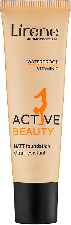 Fondotinta - Lirene Active Beauty Matt Foundation Ultra-Resistant