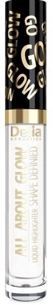 Illuminante liquido - Delia All About Glow Shape Defined Liquid Highlighter