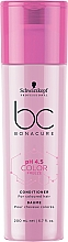 Profumi e cosmetici Condizionante rigenerante per capelli colorati - Schwarzkopf Professional Bonacure Color Freeze pH 4.5 Conditioner