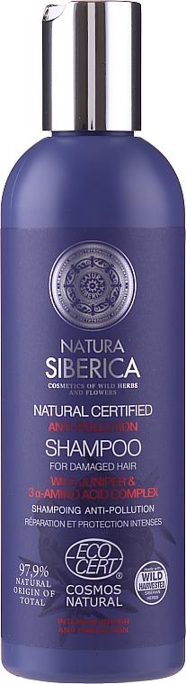 Shampoo per capelli fini e doppie punte - Natura Siberica Anti-Pollution Shampoo