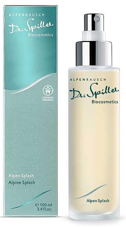 Spray rinfrescante per viso e corpo - Dr. Spiller Alpen Splash — foto N1