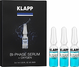 "Profumi e cosmetici Siero bifasico ""Ossigeno"" - Klapp Bi-Phase Serum Oxygen"