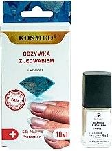Profumi e cosmetici Balsamo per unghie 10in1 - Kosmed Silk Nail Conditioner