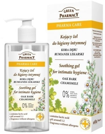 Detergente intimo lenitivo con camomilla - Green Pharmacy Soothing Gel