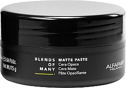 Profumi e cosmetici Pasta per capelli opaca a tenuta media - Alfaparf Milano Blends Of Many Matte Paste