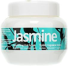 Profumi e cosmetici Maschera per capelli danneggiati - Kallos Cosmetics Jasmine Nourishing Hair Mask