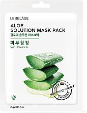 "Profumi e cosmetici Maschera viso in tessuto ""Aloe"" - Lebelage Aloe Solution Mask"