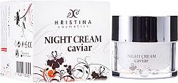 Profumi e cosmetici Crema viso rinforzante al caviale, da notte - Hristina Cosmetics Orient Caviar Night Cream