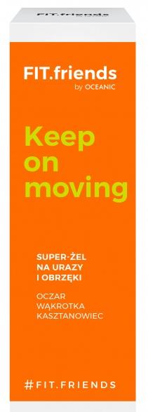 Gel per lesioni e gonfiore - AA Fit.Friends Keep On Moving Super Gel — foto N1