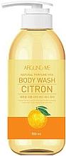 Profumi e cosmetici Gel doccia con estratto di agrumi - Welcos Around Me Natural Perfume Vita Body Wash Citron