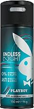Profumi e cosmetici Playboy Endless Night - Deodorante spray per il corpo