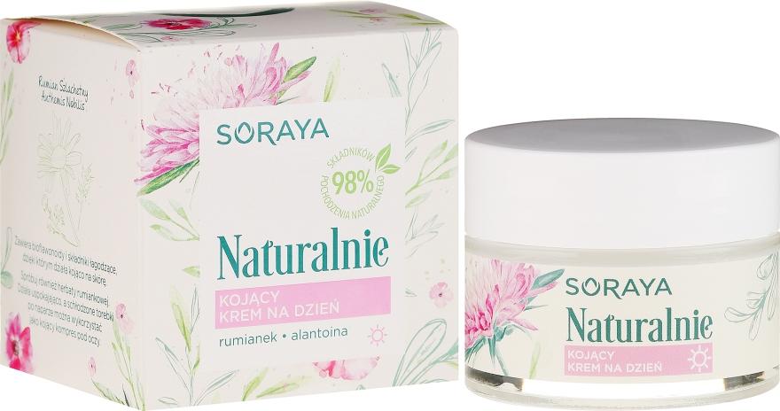Crema lenitiva viso - Soraya Naturalnie Day Cream — foto N1