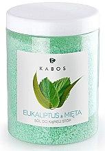 Profumi e cosmetici Sale da bagno piedi - Kabos Eucalyptus & Mint Foot Bath Salt