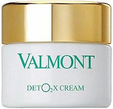 Profumi e cosmetici Crema viso disintossicante all'ossigeno - Valmont Deto2x Cream