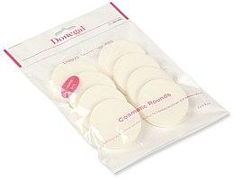 Profumi e cosmetici Spugna trucco, bianco, 8 pz. 4302 - Donegal Sponge Make-Up