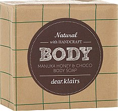 Profumi e cosmetici Sapone viso e corpo - Klairs Body Manuka Honey & Choco Body Soap