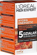 Profumi e cosmetici Crema idratante - L'Oreal Paris Men Expert Hydra Energetic Daily Anti-Fatigue Moisturising