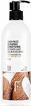 Profumi e cosmetici Balsamo per capelli - Freshly Cosmetics Anti Frizz Repairing Conditioner
