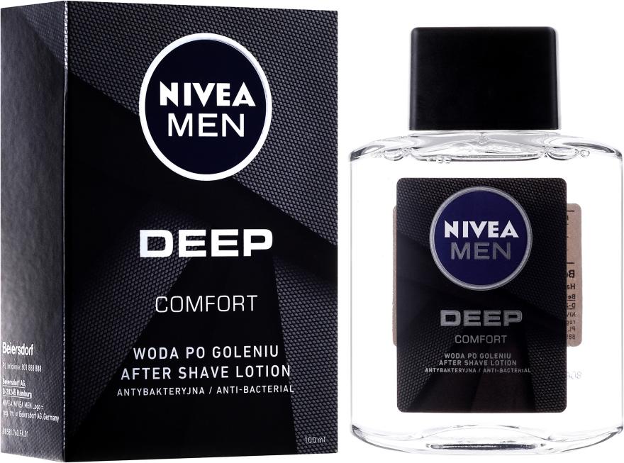 Lozione dopobarba antibatterica - Nivea Men Deep Comfort After Shave Lotion