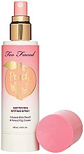 Profumi e cosmetici Mist viso - Too Faced Peach Mist Setting Spray