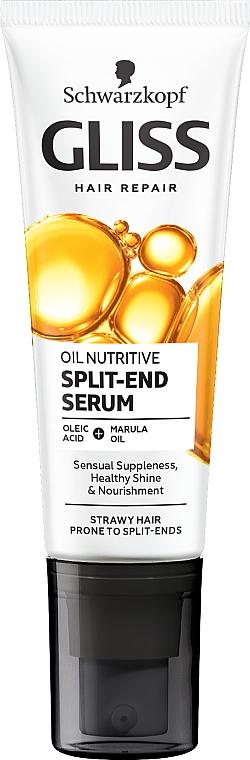 Fluido doppie punte - Schwarzkopf Gliss Kur Oil Nutritive 8 Presicious Oils