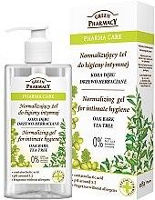 Profumi e cosmetici Detergente intimo - Green Pharmacy Normalizing Gel