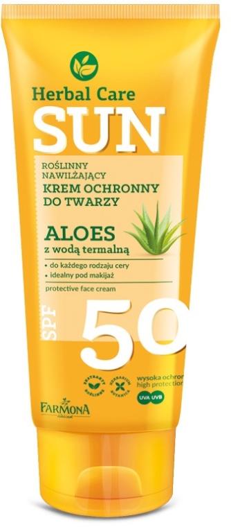 Crema viso protettiva - Farmona Herbal Care Sun SPF 50