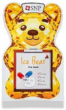 Profumi e cosmetici Maschera viso vitaminica - SNP Ice Bear Vita Mask