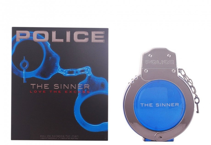 Police The Sinner Love The Excess Man - Eau de toilette