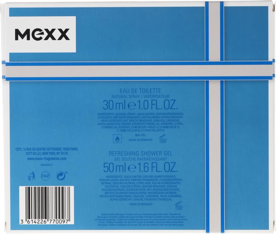 Mexx Man - Set (edt/30ml + s/g/50ml) — foto N2