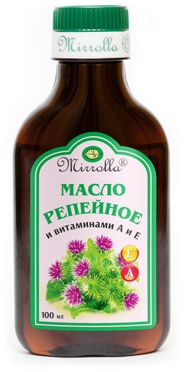 Olio di bardana con vitamine A ed E - Mirrolla