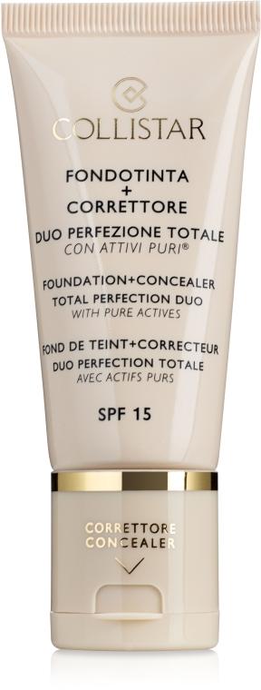 Fondotinta - Collistar Foundation + Concealer Total Perfection Duo
