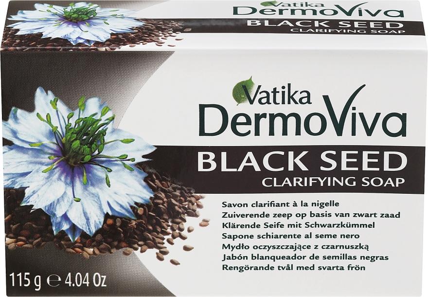Sapone anti-infiammatorio con cumino nero - Dabur Vatika Black Seed Soap