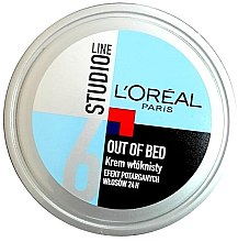Profumi e cosmetici Crema capelli modellante - L'Oreal Paris Studio Line Out of Bed Cream