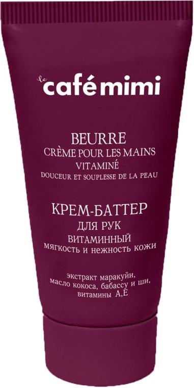 Crema-olio mani vitaminica - Cafe Mimi Hand Cream Oil