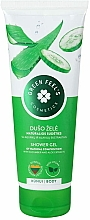 Profumi e cosmetici Gel doccia con estratti di aloe e cetriolo - Green Feel's Shower Gel With Aloe & Cucumber Extracts