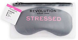Profumi e cosmetici Mascherina per dormire - Revolution Skincare Stressed Mood Calming Sleeping Eye Mask