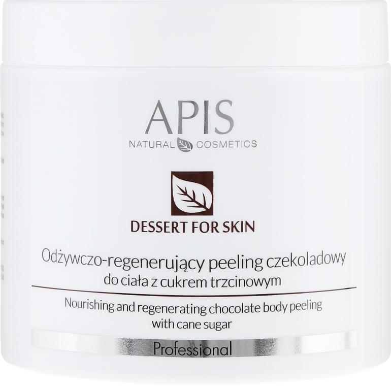 Peeling corpo - APIS Professional Dessert For Skin Nourishing And Regenerating Chocolate Body Peeling