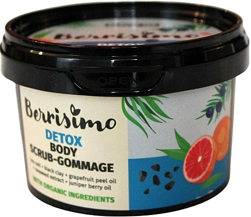 Scrub-gommage corpo - Berrisimo Detox Body Scrub-Gommage
