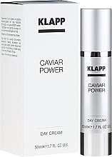 "Profumi e cosmetici Crema giorno "" Caviar Power"" - Klapp Caviar Power Day Cream"