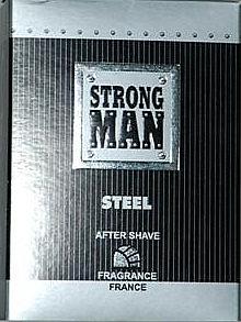 Lozione dopobarba - Strong Men After Shave Steel