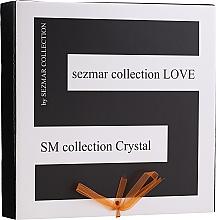 Profumi e cosmetici Set - Sezmar Collection Love Crystal (sh/gel/250ml + massage/oil/100ml + b/lot/200ml)
