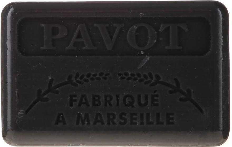 """Sapone di Marsiglia """"Papavero"""" - Foufour Savonnette Marseillaise Pavot"""